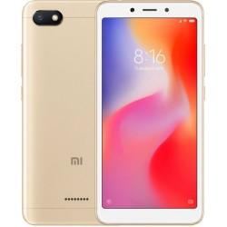 """Смартфон Xiaomi Redmi 6A 2/16GB Gold 2sim/5.45""""/1440*720/4*2ГГц/2Gb/16Gb/mSD/13Мп/Bt/WiFi/GPS/And"""