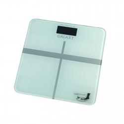 Весы Galaxy GL 4808 White стекло, точность 0,1кг, макс. 180кг, авто вкл/выкл