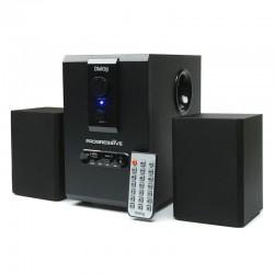 Актив.колонки 2.1 Dialog Progressive AP-150 10Вт, USB/SD, питание от сети, MDF, Black