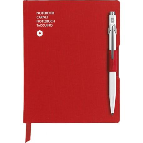 CARANDACHE ручка шариковая + записная книжка, красный (8491.453)