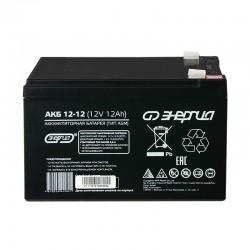 Аккумулятор Энергия 12-12 (12V, 12Ah)