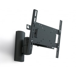 "Кронштейн Electriclight КБ-01-27 черный настенный,для тв,10-37"",до 30кг,наклон -15°,поворот ±70°"