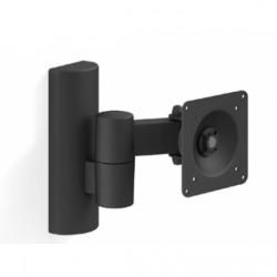 "Кронштейн Electriclight КБ-01-11 черный настенный,для тв,14-32"",до 30кг,наклон -10°,поворот ±90°"