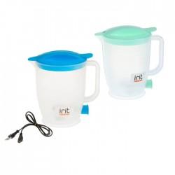 Чайник Irit IR-1121 White (400Вт,1л,пластик,открытая спираль,дорожный)