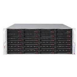Supermicro SuperStorage 4U Server 6049P-E1CR24L noCPU(2)Scalable/TDP 70-205W/ no DIMM(16)/ 3008controller HDD(24)LFF/ 2x10Gbe/ 5xFH/ 2x1200W