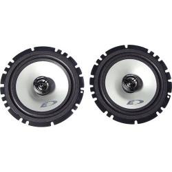 Колонки автомобильные 16см Alpine SXE-1725S 40/220Вт, 60-20000Гц, 4Ом, 92дБ, коаксиальная АС