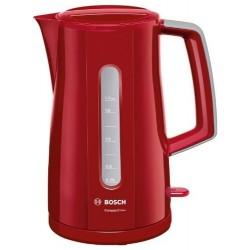 Чайник Bosch TWK3A014 Red (2400Вт,1.7л,пластик,закрытая спираль)