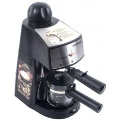 Кофеварка Endever Costa-1050 Black (900Вт,0.2л,5 бар,рожковая,тип кофе: молотый)