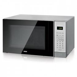 Микроволновая печь BBK 20MWS-729S/BS Silver/Black (700Вт,20л,электр-е упр.)