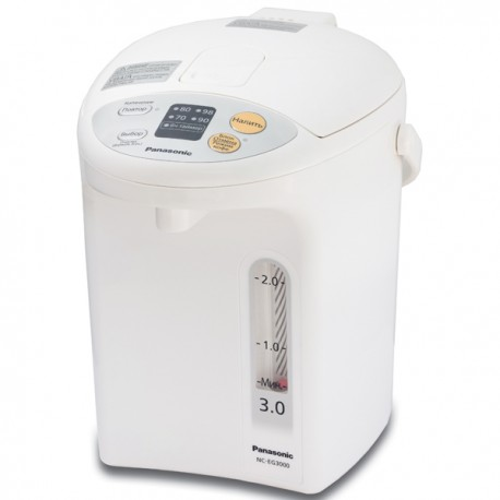 Термопот Panasonic NC-EG3000WTS White 700Вт, 3л, пластик