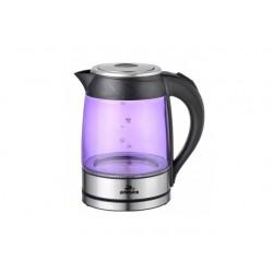 Чайник Добрыня DO-1228 Violet (2200Вт,1.8л,стекло,закрытая спираль)