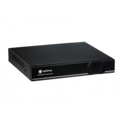 IP-видеорегистратор Optimus NVR-1082 8 каналов, 8IPх1080P/720P, H.264, 16IP, 12В, 4А, 0°С +40°С