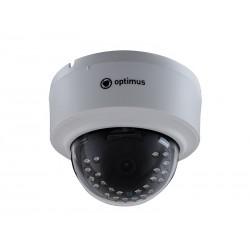 """IP Видеокамера Optimus IP-E021.0(2.8) (цветная купольная,1/4"""",ИК 20м,1Мп 1280х720 ,2.8мм)"""