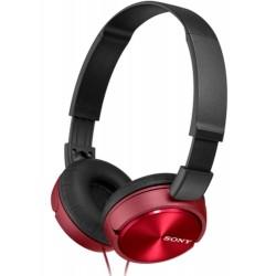 Гарнитура Sony MDR-ZX310AP накладные, 24Ом, 98дБ, кабель 1.2м, Red