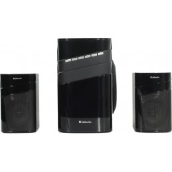 Актив.колонки 2.1 Defender X400 40Вт, Bluetooth, FM, SD/USB, питание от сети, MDF, Black