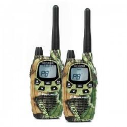 Радиостанция Midland GXT-850 PMR/LPD, 446МГц/433МГц, 15км, 77 каналов, 4хАА, CTCSS, DCS, 2шт.