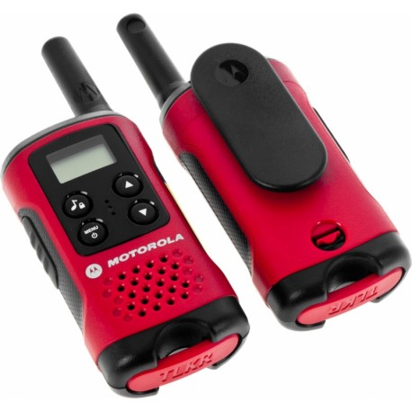 Радиостанция Motorola TLKR-T40 PMR, 446-446.1МГц, 4км, 8 каналов, 3хAAA, CTCSS, DCS, 2шт.