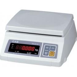 Весы CAS SWII-10  электронные порционные до 10 кг.