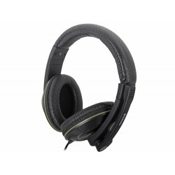 Игровая гарнитура Defender Warhead G-110 мониторные, 32Ом, 106дБ, кабель 2.1м, Black