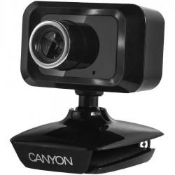 Веб-камера CANYON CNE-CWC1 1.3МП/1600*1200 микрофон,крепл на монитор,экран ноутбука