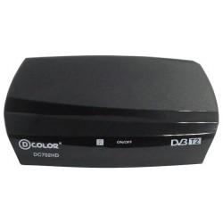 Цифровая приставка DVB-T2 D-Color DC702HD HDMI 1080p/RCA/TimeShift/ТВгид/запись