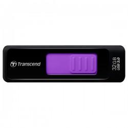 Флешка Transcend 760 Черный/фиолетовый (USB3.0/3.1,32GB)