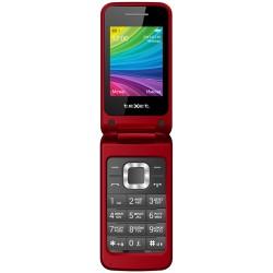 """Сотовый телефон Texet TM-204 Red/Pomegranate (2sim/2.4""""/240*320/-/microSD/-/Bt/800мАч)"""