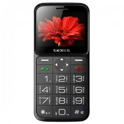 "Сотовый телефон Texet TM-B226 BlackRed (2sim/2.31""/240*320/-/microSD/0.1Мп/Bt/1250мАч/фонарик)"