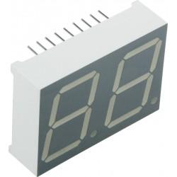 индикатор DA08-11SRWA, красный, анод, 1.85в, 24мКд, 35.6*25.7мм, 8.8.