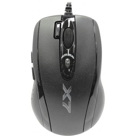 Мышь USB A4Tech XL-750MK mini black