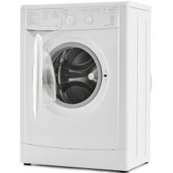 Стиральная машина Indesit IWSB 5105 White 5кг, фронт. загрузка, отжим 1000об/мин, 16 програм, Класс стирки: A  Класс отжима: C  Класс энергопотребления: A, 60x45x85