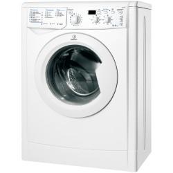 Стиральная машина Indesit IWUD 4085 White 4кг, фронт. загрузка, отжим 800об/мин, 16 програм, Класс стирки: A  Класс отжима: D  Класс энергопотребления: A, 60x33x85