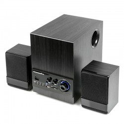 Актив.колонки 2.1 Dialog Progressive AP-170 14Вт, BT, FM, USB/SD, питание от сети, MDF, Black