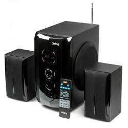 Актив.колонки 2.1 Dialog Progressive AP-209 60Вт, Bluetooth, FM, USB/SD, питание от сети, MDF, Black