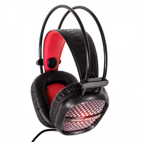 Игровая гарнитура Dialog Gan-Kata HGK-20L мониторные, 32Ом, кабель 2.2м, Black