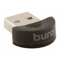 Адаптер Bluetooth USB Buro BU-BT30 Bluetooth 3.0+EDR class 2 10м черный