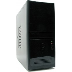 Корпус ATX InWin EC021BL (чёрный,SATA,USB+Audio.,Б/П 450w)