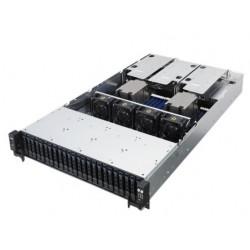 """ASUS RS720A-E9-RS24-E // 2U, ASUS KNPP-D32,  2 x Socket SP3 AMD Epyc 7000 Series, 32GB max, 24HDD 2,5"""" Hot-swap, 800W+1200W, CPU FAN ; ; 90SF00A1-M00010"""