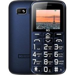 "Сотовый телефон BQ BQ-1851 Respect D.Blue (2sim/1.77""/128*160/32Mb/microSD/-/Bt/1000мАч/фонарик)"