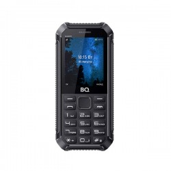 "Сотовый телефон BQ BQ-2434 Sharky Black (2sim/2.4""/240*320/32Mb/microSD/-/Bt/1650мАч)"