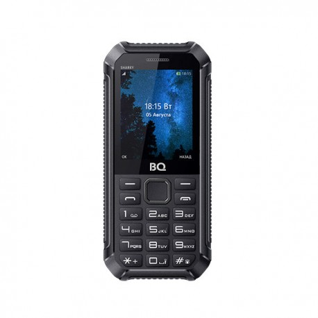 f603ba671e1e Сотовый телефон BQ BQ-2434 Sharky Black (2sim/2.4