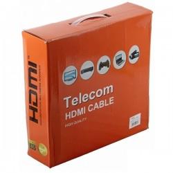 Кабель HDMI-HDMI  30м Telecom v1.4 GOLD разъёмы,2 фильтра (CG511D)