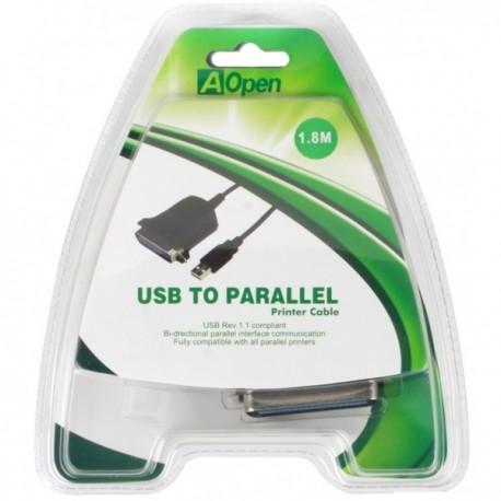 Переходник USB=>LPT Aopen ACU806 1.8м