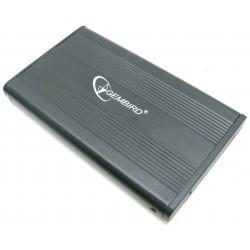 """Внешний бокс для HDD 2.5"""" USB 2.0  Gembird EE2-U2S-5 черный,металл"""