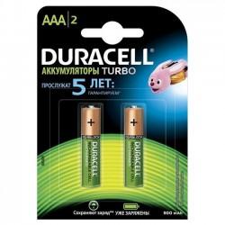 Аккумулятор AAA Duracell  900 mAh  2шт уп