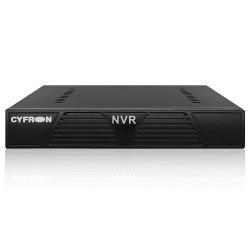 Сетевой видеорегистратор (NVR) Cyfron NV1016, 16кан/720/960р, 8 кан/2 мп, 1 HDD 4Tb