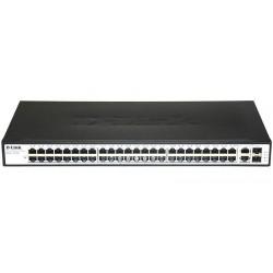 Коммутатор D-Link DES-1050G/C1A (48-ports UTP 10/100Mbps+2-ports 10/100/1000BASE-T,Stand-alone)
