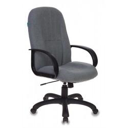 Кресло руководителя БЮРОКРАТ T-898AXSN/10-128 (498288) ткань, регулировка высоты/под вес, Grey