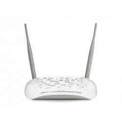 Маршрутизатор TP-Link TD-W8961NB 802.11n 300 Mbps 4xLAN ADSL2+ съемная антенна