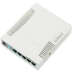 Маршрутизатор MikroTik RB951G-2HnD (802.11n 300 Mbps 5xLAN 1000 Mbps 1xUSB)
